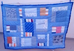 Baby quilt,Noam, front