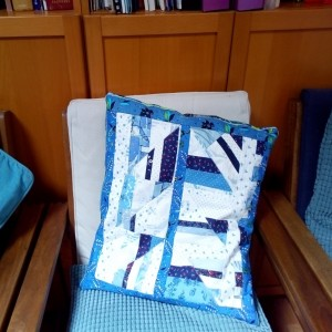 Cushion at doctor's office
