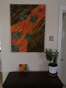 Two paintings together!