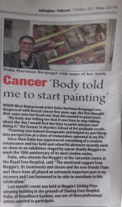 Islington Tribune - dalia story