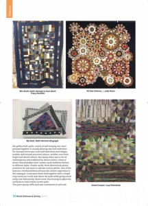 The British  Quilting and Patchwork magazine 3